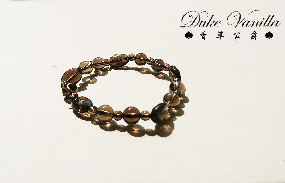 天然茶晶手環 - Duke Vanilla 香草公爵